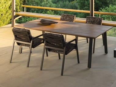 Tavolo rettangolare in legno COTTAGE | Tavolo