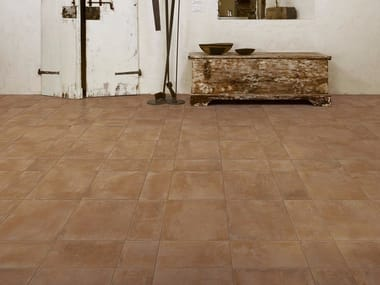 Pavimento/rivestimento in gres porcellanato effetto cotto COTTI D'ITALIA