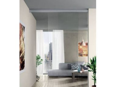 Cover alta a soffitto con vetro fisso COVER ALTA SC 777 ANTA UNICA