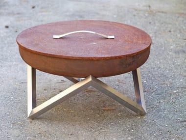 Accessoire pour barbecue en acier au carbone COVER | Coperchio in acciaio