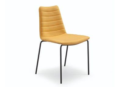 Gepolsterter Stuhl aus Stoff COVER S MT