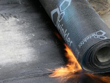 Prefabricated bituminous membrane COVER TOP