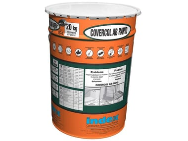 Impermeabilizzante e super adesivo a presa rapida COVERCOL AB RAPID