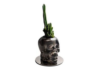 Vaso in resina CRANIUM | Vaso