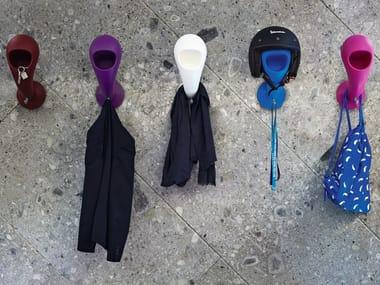 Poleasy® coat rack / pin tray CRAZY HEAD