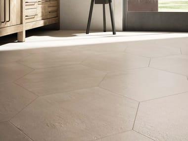 Pavimento/rivestimento in gres porcellanato effetto cemento CREATIVE CONCRETE B