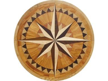 Wooden medallion CREATOR® Laser Rosettes
