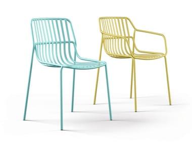 Steel chair for indoor and outdoor CRONA STEEL | Chair