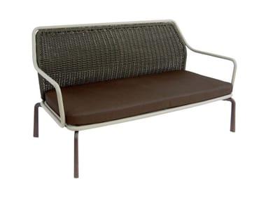 2 seater garden sofa CROSS | 2 seater garden sofa
