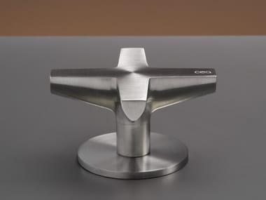 Miscelatore per lavabo idroprogressivo in acciaio inox CROSS 39