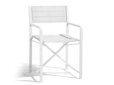 Folding Batyline® chair CROSS | Aluminium chair