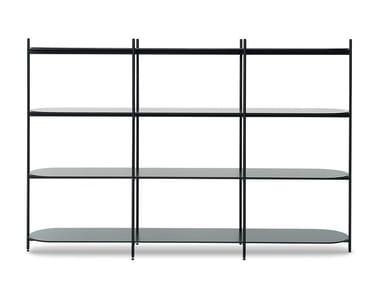 Open modular shelving unit CROSS | Shelving unit