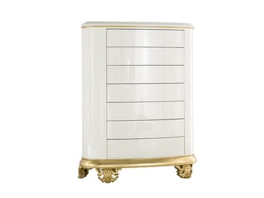 Lacquered chest of drawers CROWN | Lacquered chest of drawers