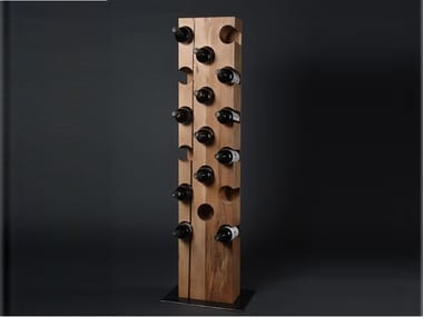 Beech bottle rack CRU #03