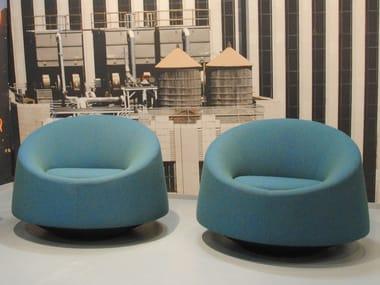Design fabric armchair CRYSTAL | Armchair