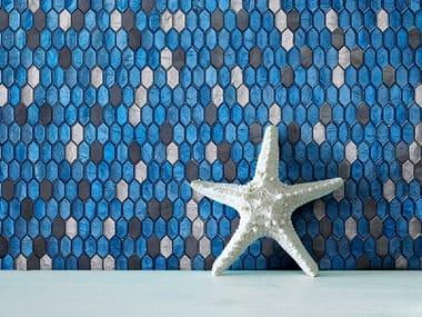 Glass mosaic CRYSTAL