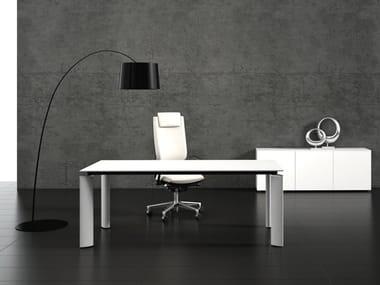 Rectangular office desk CRYSTAL | Rectangular office desk