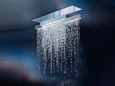 Lampada da soffitto alogena con cristalli Swarovski® CRYSTALLINE ICICLES | Lampada da soffitto