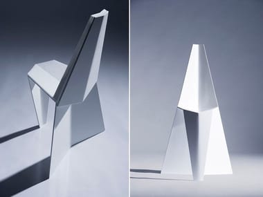 Cantilever chair CRYSTALLIZED CHAIR