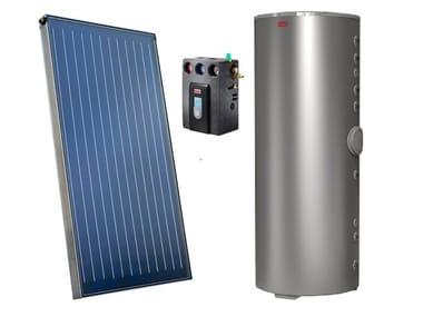 Forced circulation Solar heating system SISTEMA CSAL 25 RN