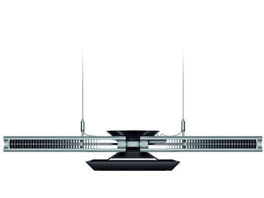 LED direct-indirect light pendant lamp CU-BEAM DUO
