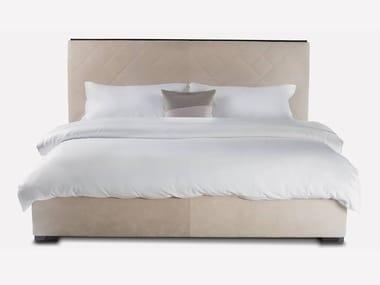 Nabuk double bed CUBÉ   Double bed