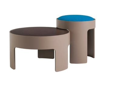 Multi-layer wood stool / coffee table CUBA LIBRE 2