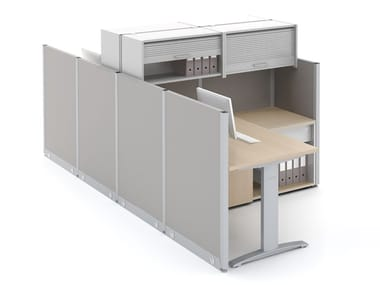 Glass office partition CUBIC | Glass movable wall