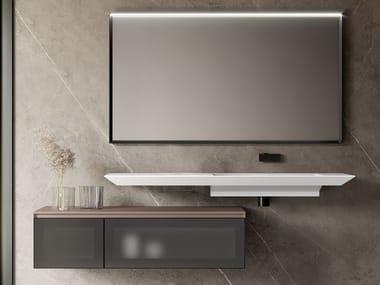 Piano lavabo / mobile lavabo CUBIK 22
