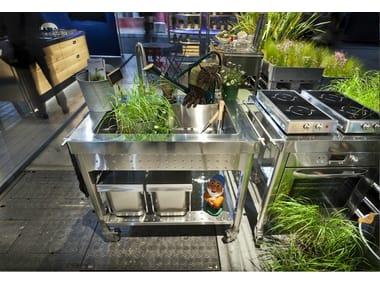 Gas outdoor kitchen OUTDOOR 100 | Outdoor kitchen