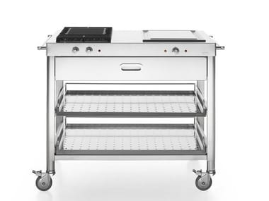Gas Electric outdoor kitchen with Grill OUTDOOR 100 | Outdoor kitchen with Grill