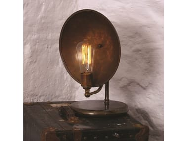 Handmade Brass Table Lamp CULLEN INDUSTRIAL TABLE LAMP