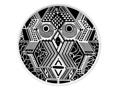 Ceramic dinner plate CULTURES MUDEC VI