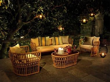 Lounge set da giardino