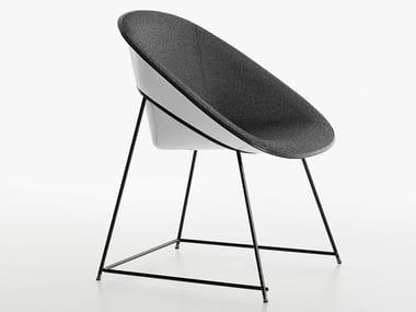 Stuhl aus Kunststoff CUP