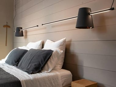 Lampada a sospensione a LED a luce diretta in alluminio CUPIDO | Lampada a sospensione a luce diretta