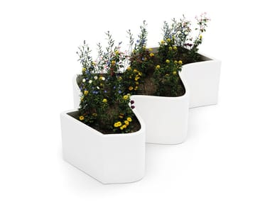 Low Hypergranite Flower pot CURLY