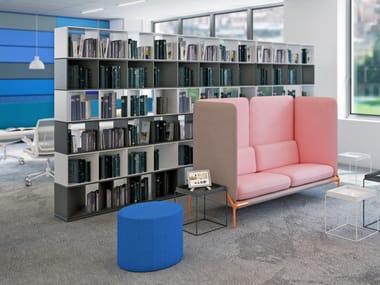 Open Modular office shelving CUT