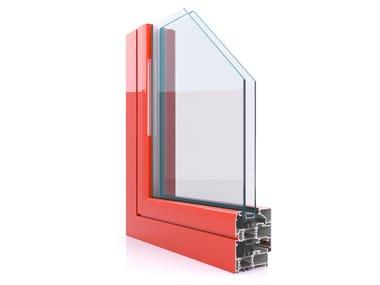 Aluminium casement window CX 700