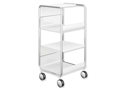 Chrome plated steel Trolley Chrome plated steel Trolley