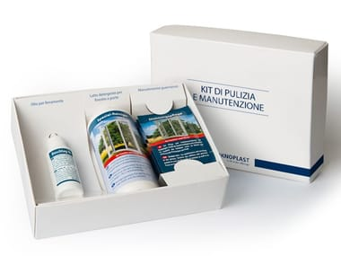 PVC windows cleaning and maintenance kit Cleaning and maintenance kit