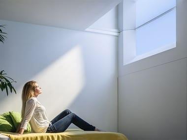 Finestra artificiale a parete CoeLux® 45 SQUARE