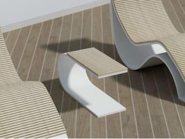 Tavolino da caffè da giardino in legno EPOQUE | Tavolino