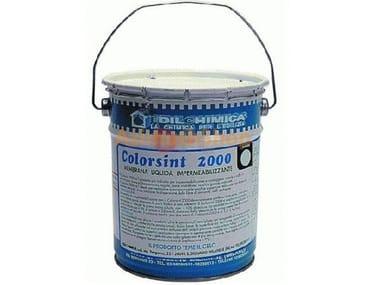Rivestimento incapsulante per lastre in cemento amianto Colorsint 2000 Amianto