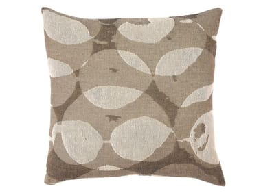 Square fabric cushion CONNECTED DOTS