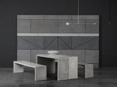 Concrete console table / table P | Table