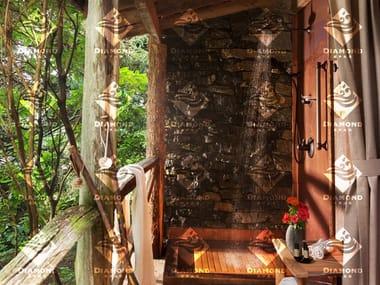 Plato de ducha cuadrado de cobre Copper Outdoor Shower