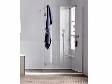 Chiusura doccia ad angolo con anta mobile Chiusura doccia ad angolo - anta mobile