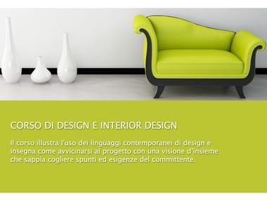 Design training course Corso di Design e Interior Design