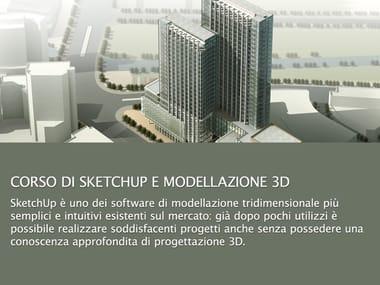 CAD وتقديم الدورات التدريبية Corso di SketchUp e modellazione 3d